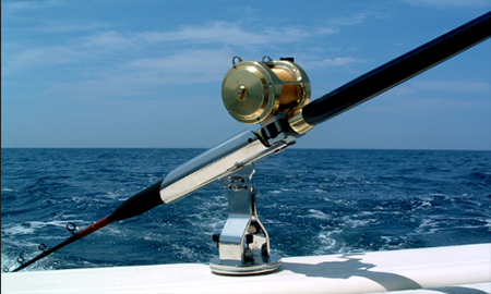 Fishing Rod Renn Rquall with Fishing Rod Holder