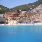 Lefkada-port-Katsiki -summer
