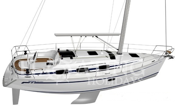 bavaria 36 Lonaky layout
